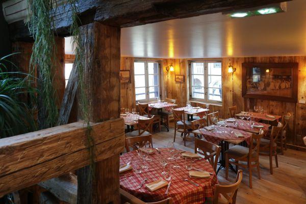 Restaurant raffin cosy traditionnel alsace le fer - Fer rouge colmar ...