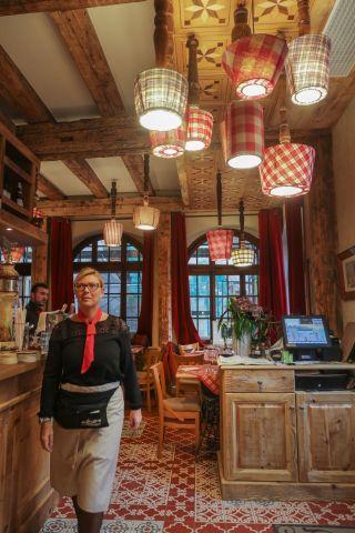Restaurant raffin cosy traditionnel alsace le fer for Restaurant la maison rouge colmar
