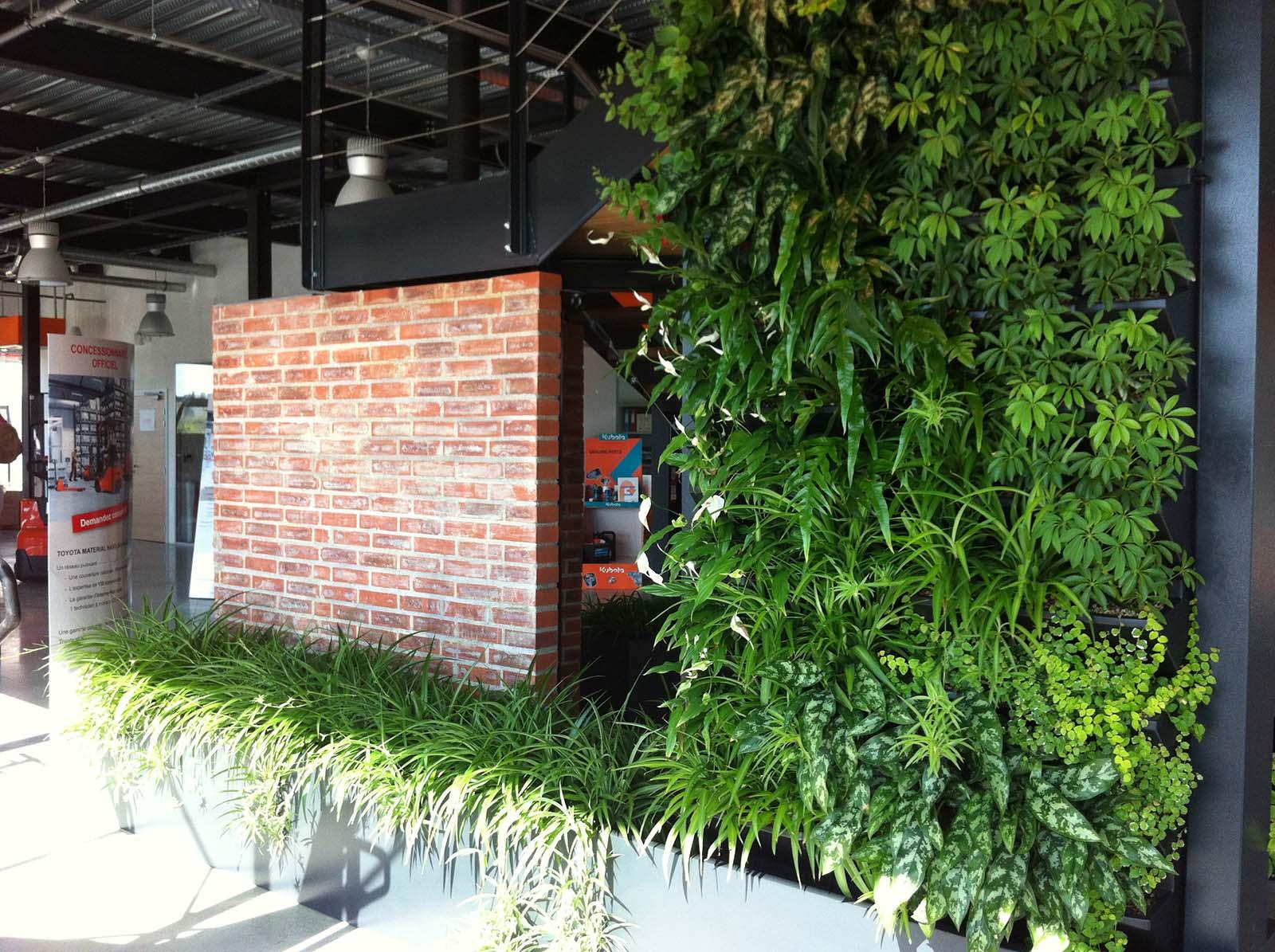 Jardin d 39 int rieur efficacit professionnelle v g taux for Jardin d interieur