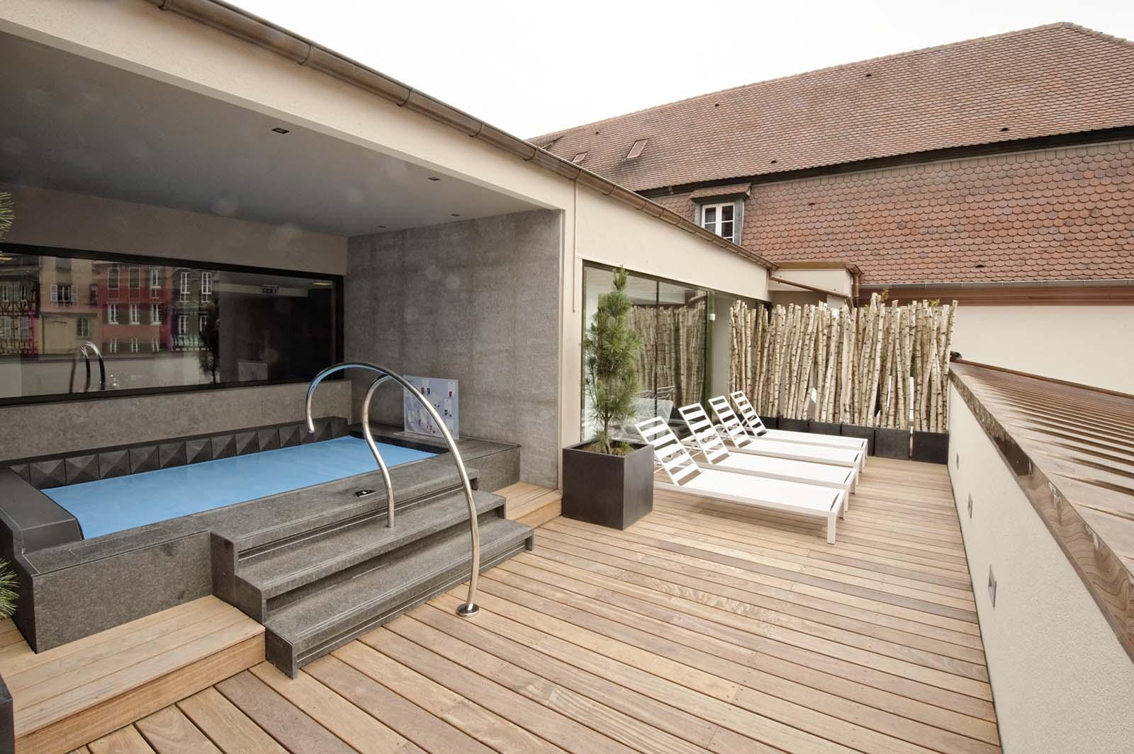 h tel r gent spa sauna hammam douche petite france strasbourg point eco alsace. Black Bedroom Furniture Sets. Home Design Ideas
