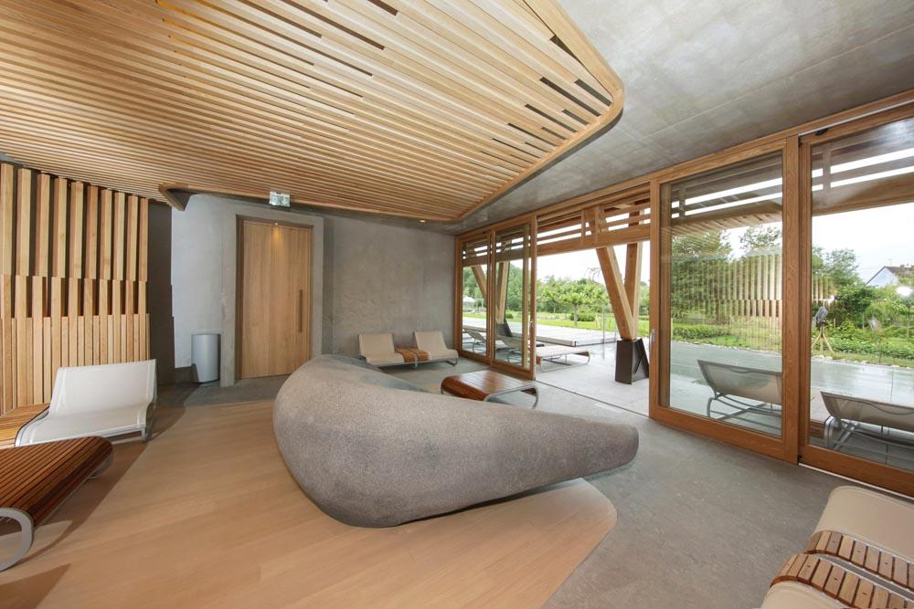 Spa des saules quand l h tel des berges investit le for Designhotel elsass