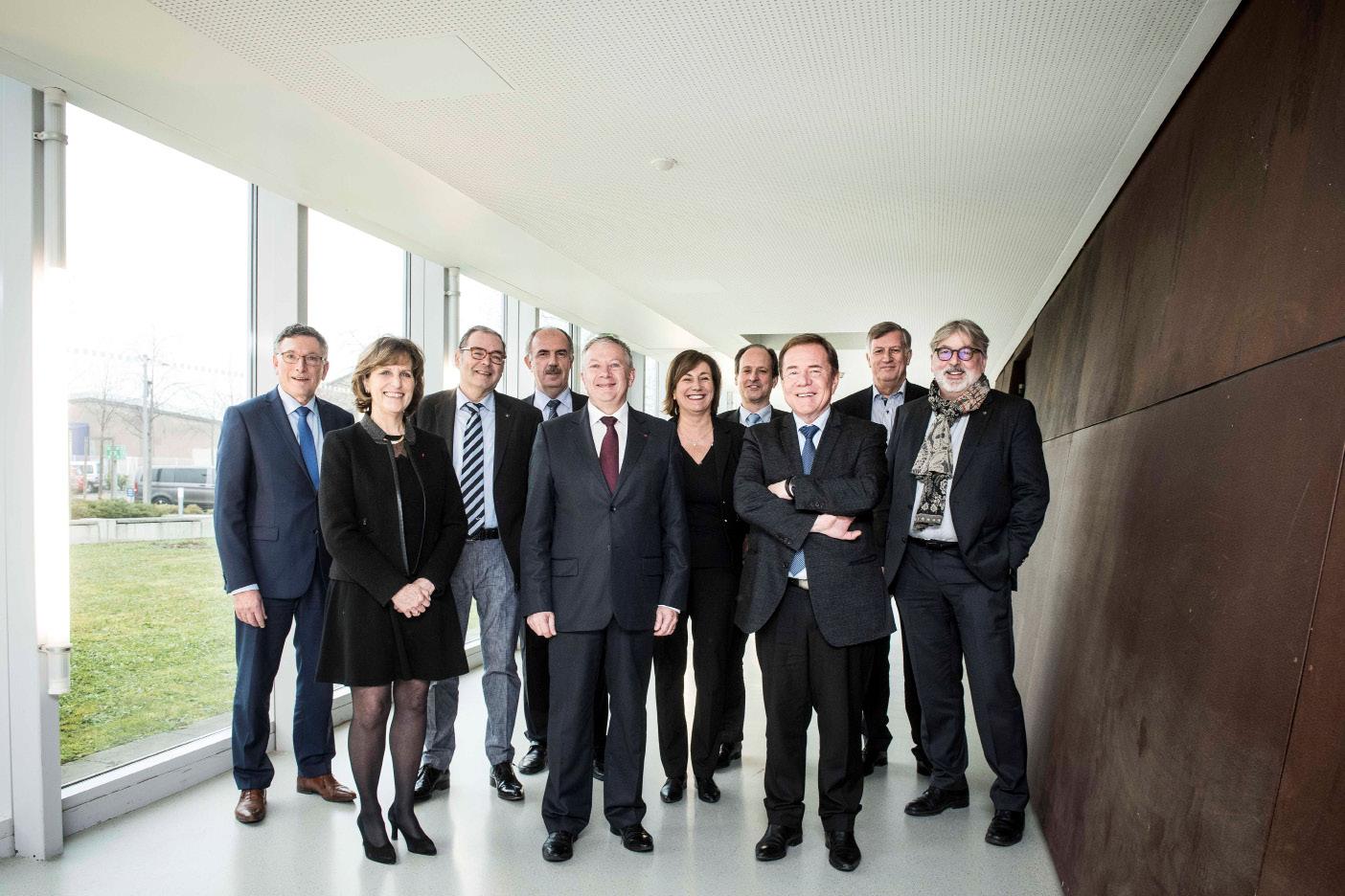 Président de la nouvelle cci alsace eurométropole