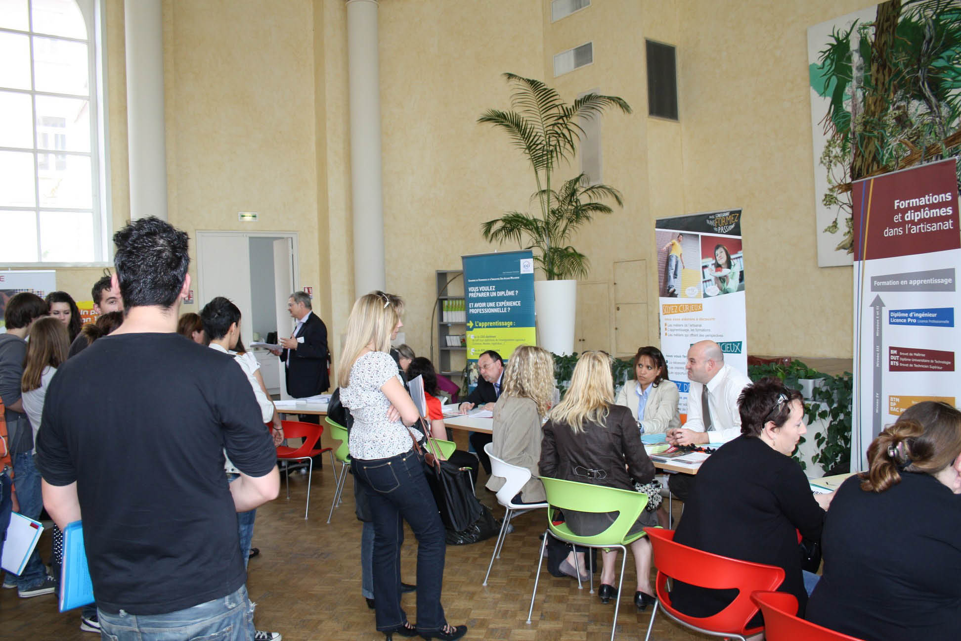 Portes Ouvertes & Forum Apprentissage Alsace CCI Mulhouse & CFA