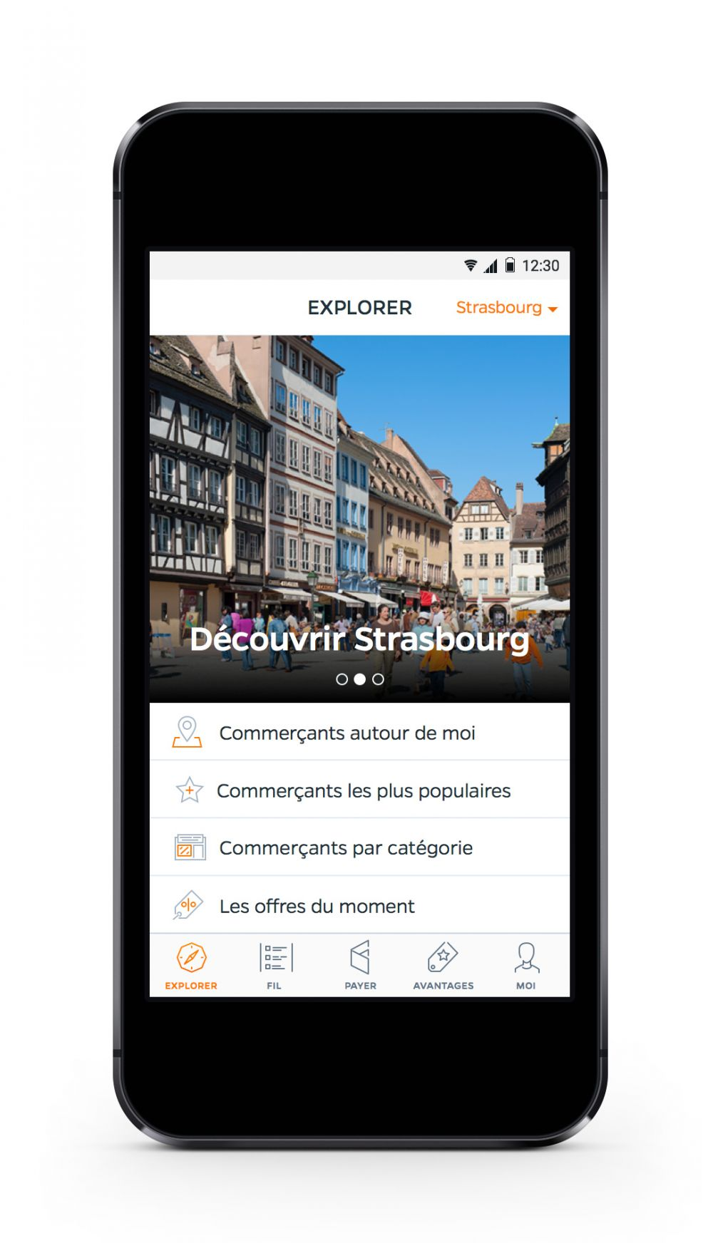 paiement mobile strasbourg application smartphone r ductions point eco alsace. Black Bedroom Furniture Sets. Home Design Ideas